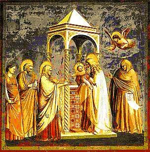 Prikazanje Isusa u Hramu